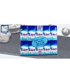 Носовой платок, 30x10 stück, 300 шт-Taschentücher Кокет