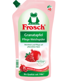 Ополаскиватель для белья гранат Frosch Weichspüler Granatapfel 1l