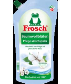 Ополаскиватель для белья Frosch цветы хлопка  Weichspüler Baumwollblüten 40 Wl, 1 l
