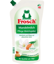 Ополаскиватель для белья Frosch Weichspüler Mandelmilch 40 Wl, 1 l