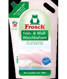Гель - бальзам Frosch для стирки шерсти Frosch Fein- & Wollwaschmittel flüssig, 30 Wl