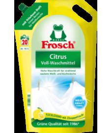 Frosch-Citrus Voll-Waschmittel  Жидкое средство для стирки  белого белья