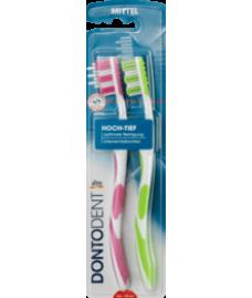 Dontodent Interdental зубная щётка средней жесткости (2 шт)
