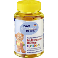 Das gesunde Plus Multivitamin Kinder- Мультивитамины для детей 60 шт.