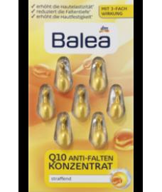 Balea anti-falten Q10 konzentrat Концентрат антивозрастной с Q10 для лица 7 капсул