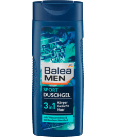 Balea MEN Duschgel Sport 3 in 1 — Гель для душа «cпорт»