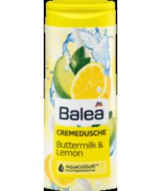 Balea Cremedusche Buttermilk&Lemon, 300 ml -Крем - гель для душа с ароматом лемона и добавлением кефира