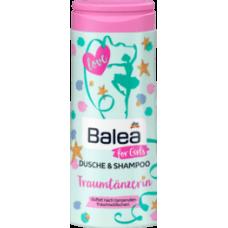 Balea for girls Shampoo & Dusche Детский гель для душа и шампунь 2 в 1 для девочек