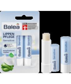 Balea Lippenpflege Sensitive DP, 9,6 g- Гигиеническая помада 2 шт  с алоэ вера для нежных губ