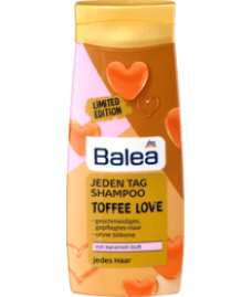 Balea Jeden Tag Shampoo Toffee Love, 300 ml, 300 ml-Шампунь для ежедневного использования