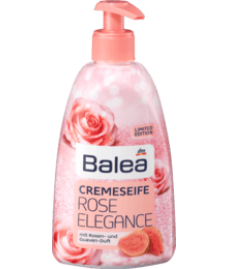 Balea cremeseife Rose Elegance Жидкое крем-мыло для рук с ароматом розы и гуавы