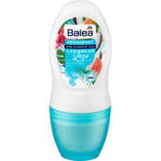 Balea Deo Roll-On Deodorant Caribbean Love, 50 ml-Дезодорант шариковый женский Caribbean Love