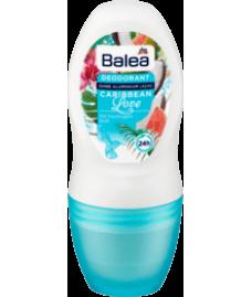 Balea Deo Roll-On Deodorant Caribbean Love, 50 ml-Дезодорант шариковый женский Caribbean Love