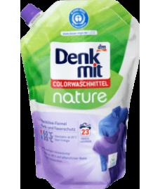 Denkmit Colorwaschmittel nature, 23 Wl-Гель для стирки цветного белья (1,5 l-23 стирки)
