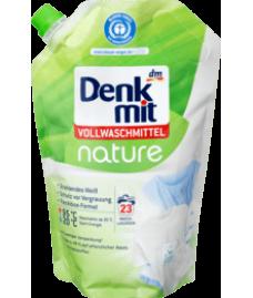 Denkmit Vollwaschmittel nature, 23 Wl-Жидкий био-гель  для белого белья 1,5л.(23 стирки)
