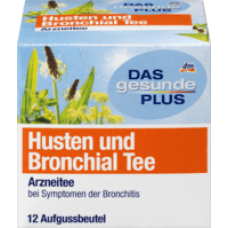 DAS gesunde PLUS Husten und Bronchial Tee 24 g — Натуральный травяной чай от кашля и бронхита
