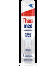 Зубная паста Theramed natur-weiss (отбеливающая) с дозатором 100 мл