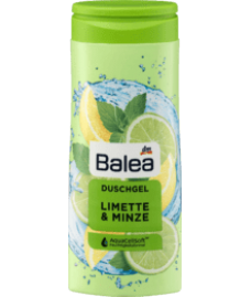 Balea Duschgel Limette & Minze, 300 ml Гель для душа с запахом лайма и мяты 300 мл