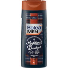 Balea MEN Duschgel Highland, 300 ml-гель для душа мужской с запахом бергамота и лимона