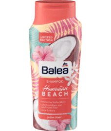 Шампунь Balea Limited Edition Гавайский пляж, 300 мл