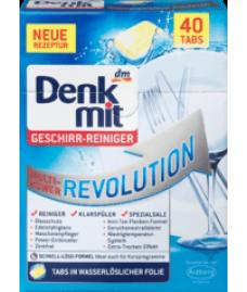 Таблетки для посудомоечной машины Denkmit Multi-Power Revolution, 40 шт