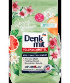 Denkmit стиральный порошок для белого Vollwaschmittel Pulver Spring Breeze, 20 W
