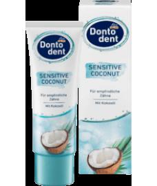 Dontodent Zahnpasta Sensitive Coconut, 75 ml зубная паста Dontodent Coconut Sensitive