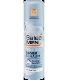 Пена для бритья Balea sensitive Rasierschaum, 300 ml для чувствительной кожи.