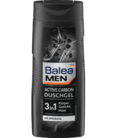 Balea MEN Duschgel Active Carbon,-Гель для душа Balea MEN Active Carbon