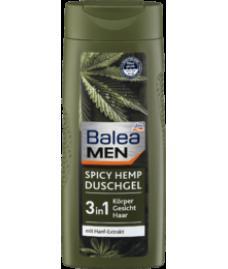 Гель для душа Balea MEN С экстрактом конопли Balea MEN Spicy Hemp Duschgel mit Hanf-Extrakt