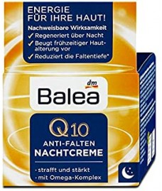 Ночной крем Q10 против морщин Balea Anti-Falten Nachtcreme (30+)