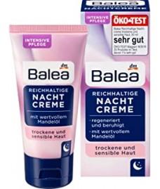Ночной крем для лица Balea с маслом миндаля Reichhaltige Nachtcreme 50 мл