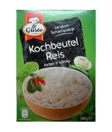 Le Gusto Spitzen-Langkorn 4 x 125 g - im Kochbeutel-рис в пакетиках быстрого приготовления
