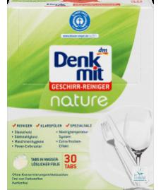 Таблетки для посудомоечной машины Denkmit Spülmaschinen-Tabs nature, 30 St