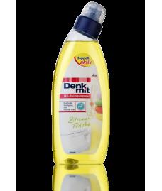 Гель для чистки унитаза  Denkmit WC-Reinigungsgel Zitrone, 750 ml