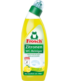 Frosch-Очиститель унитазов лимонный, 750 мл