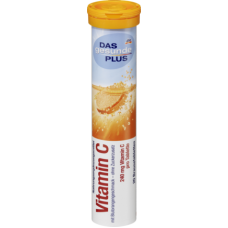Das gesunde Plus Vitamin C Orange Brausetabletten